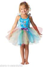 Disfraces de niña sin marca color principal azul