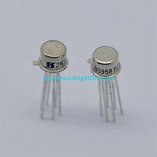 5pcs 2N3958 N-Channel Silicon Junction Dual CAN-6