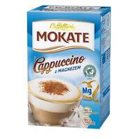 Mokate Cappuccino z Magnezem Coffee Mix with Magnesium Vitamin 150g Box
