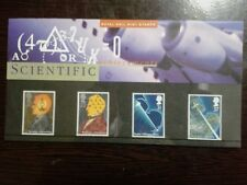 (02) UK Mint Stamps in Presentation Pack - Scientific