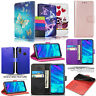 For Huawei Y6 2019 New Stylish PU Leather Wallet Flip Stand Phone Case Cover