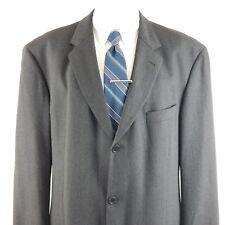 59b3125a5 Hugo Boss Men's 44 L Einstein Sigma 3 Button Gray Wool Sport Coat Suit  Jacket