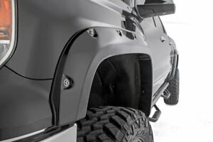 Rough Country Chevy/GMC 1500 Pocket Fender Flares w/Rivets