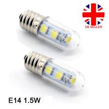 E14 1.5W White Warm White LED Light Bulb for Cooker Hood Chimmey Fridge 220v UK