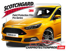 2018 Ford Focus ST 3M Scotchgard PRO Paint Protection Film Clear Bra Bumper Kit