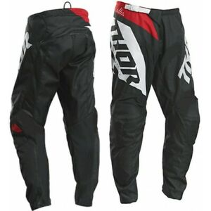 Thor Kids Sector Blade Motocross Trousers Pants Char Red Great Xmas Gift