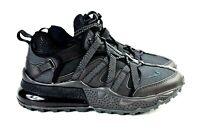 Nike Air Max 270 Bowfin Mens Size 8 Shoes AJ7200 005 Triple Black