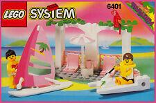Lego Paradisa 6401 Seaside Cabana New SEALED Town - Ships World Wide