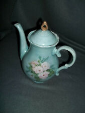 New ListingHand Painted Flowered Tea Pot Signed