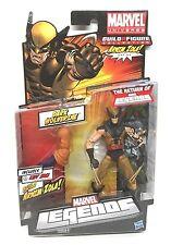 "Marvel Legends Dark Wolverine 6"" Figure 2011 Hasbro MOC X-Men Avengers Zola Arm"