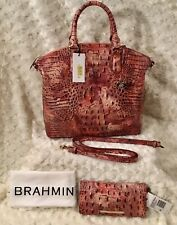 Wisteria Large Duxbury Brahmin Melbourne Purse Bag K49 151