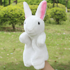 Cute Rabbit Hand Puppet Plush Dolls Story Telling Educational Kindergarten Toys