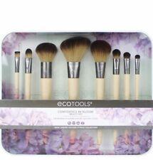 New ECOTOOLS 9-PIECE MAKEUP BRUSH Beauty SET Cosmetic Organizer Tray