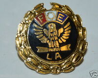 WOW Vintage FOE Fraternal Fraternal Order of the Eagles LA Lapel Pin Rare