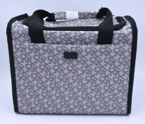 DKNY Signature Tote Lunch Bag Cooler In White Insulated New With Tags RRP £60