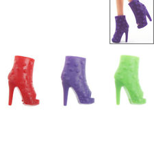 10 Pairs Shoes Doll Peep-toe Shoes Dolls Accessories Party Gift Fj