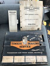 ** 24 Timken Dealership Kit Display Roller Bearing Cup Advertisement NOS Vintage