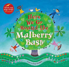 Here We go Round the Mulberry Bush w/animated video and singalong