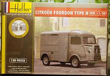 1948 Citroen Fourgon Type H, 1:24, Heller 80768, Nuovo NUOVO 2016 NUOVO COMPLETAMENTE NUOVO