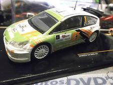 CITROEN C4 WRC Rallye #1 Tsjoen Structo van Maercke Haspe UMBAU based IXO 1:43