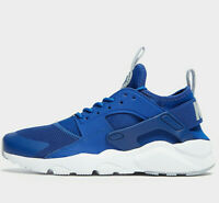 Nike Air Huarache Run Ultra ® (GS UK Sizes: 3 &  5.5 ) Indigo Force / White NEW