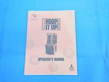 Atari Hoop It Up Arcade Video Game Original Manual