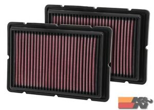 K&N Replacement Air Filter For FERRARI F360 05-09/ F430 99-05  33-2494