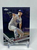 Clayton Kershaw Topps Chrome 2017 Base Card  - LA Dodgers