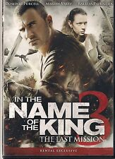 IN THE NAME OF THE KING 3 (DVD,2014) RENTAL