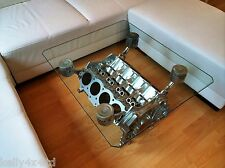 """Rover V8 Engine - Coffee/Occasional Table 95% Upcycled """"Top Gear"""" style"""