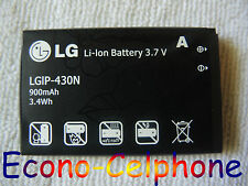 New LGIP-430N Battery for LG GS390 Prime, GU295, Imprint, LN240 Remarq, LX290
