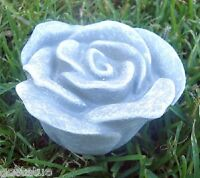 Latex flower Rose mold plaster concrete mould