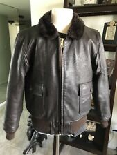 G-1 Barely Worn Excelled DSCP Leather Flight Jacket USMC Marines USN 💎 46 XL