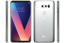 LG V30 64GB Factory Unlocked - Silver Smartphone Android US998 64 GB WiFi 4K New