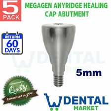 X 5 Megagen Anyridge 5mm Healing Cap Abutment
