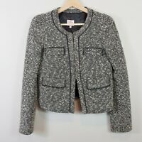[ LEONA EDMISTON ] Leona Womens Tweed Blazer Jacket  | Size AU 8 or US 4