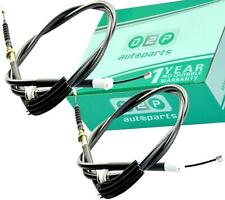 2x REAR HAND BRAKE CABLES FOR FORD MONDEO MK3 SALOON & HATCHBACK (2000-2007)