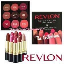 Revlon 9 Super Lustrous Lipsticks Lip Cube RRP £68 BNIB