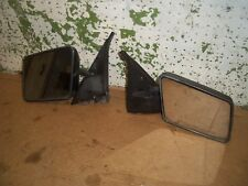 1991 CHEVY S10 TRUCK RIGHT LEFT OUTER MANUAL MIRROR BLACK 1990