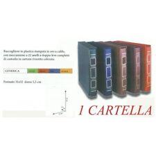 CARTELLA CON CUSTODIA A 22 ANELLI NUOVA DI FABBRICA + STEMMA ADESIVO MF5265