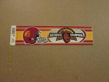 NCAA Trojans 2004 BTB National Champions Bumper Sticker