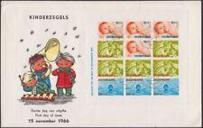 NETHERLANDS, 1966. First Day Child Welfare B416a, Ijmuiden