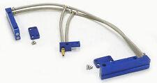 OBX Aluminum Fuel Injection Rail Fit 2002 03 04 2005 Impreza WRX 2.0L EJ20T Blue