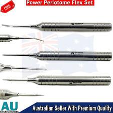 Dental Periodontal Instrument Flex Periotome Power & Extraction Screw kit 3pcs