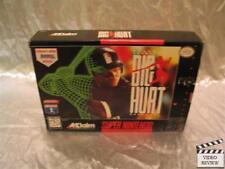 Frank Thomas Big Hurt Baseball (Super Nintendo Entertainment System, 1995 Poster