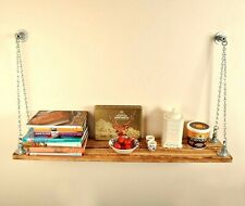 Chain Hanging Shelf - Vintage Retro Steampunk Industrial Style