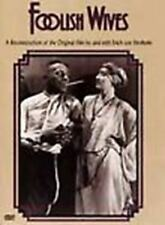 NEW DVD Foolish Wives: Erich von Stroheim Mae Busch Rudolph Christians Dupont