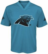 Carolina Panthers Color Rush Fashion Jersey Youth XL 18/20 NFL Boys Blue Teal
