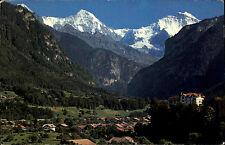 1963 Stempel WILDERSWIL auf AK Schweiz Panorama Ansicht Alpen Berge ua. Jungfrau