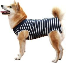 New listing Dog Recovery Suit Abdominal Wound Protector Puppy Medical Surgical Clothes Xs